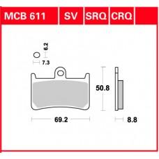 TRW Klocki hamulcowe MCB611SV