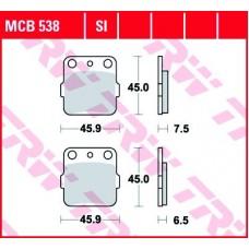 TRW Klocki hamulcowe MCB538SI