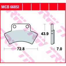 TRW Klocki hamulcowe MCB668SI
