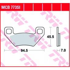 TRW Klocki hamulcowe MCB773SI