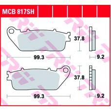 TRW Klocki hamulcowe MCB817SH