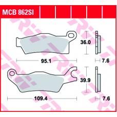TRW Klocki hamulcowe MCB862SI