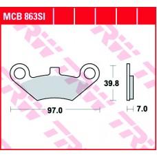 TRW Klocki hamulcowe MCB863SI