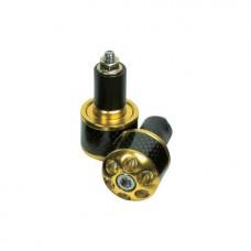 OXFORD Końcówki kierownicy Carbon-Gold OF903