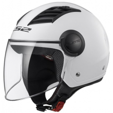 LS2 Kask OF562 AIRFLOW SOLID WHITE