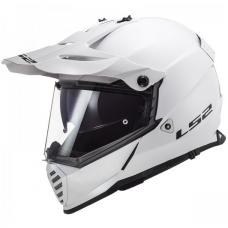 LS2 Kask MX436 PIONEER EVO GLOSS WHITE