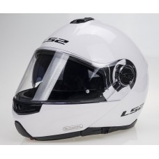LS2 Kask FF325 Strobe White