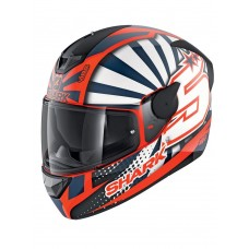 SHARK Kask D-Skwal 2 Zarco 2019 White/Red