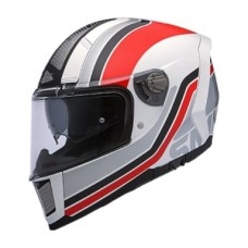 SMK Kask Force Seventy White/Red
