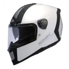 SMK Kask Force Steel Gloss White
